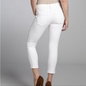 Calvin Klein White Jeans Skinny Crop Size 10